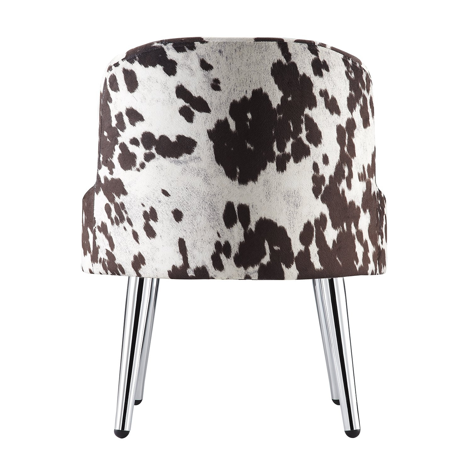 Shop Tribecca Home Bridgeport Ergonomic Contour Cowhide Fabric Intended For Circuit Swivel Accent Chairs (View 16 of 25)