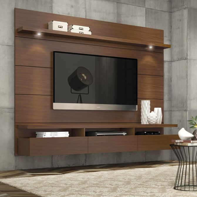 Shop Wayfair For All Tv Stands To Match Every Style And Budget With Favorite Wall Mounted Tv Racks (View 11 of 25)