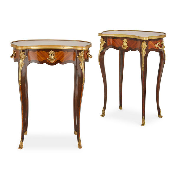 Side Tables Gilt Wood Roccoco – The Uk's Premier Antiques Portal Inside 2017 Phillip Brass Console Tables (View 19 of 25)