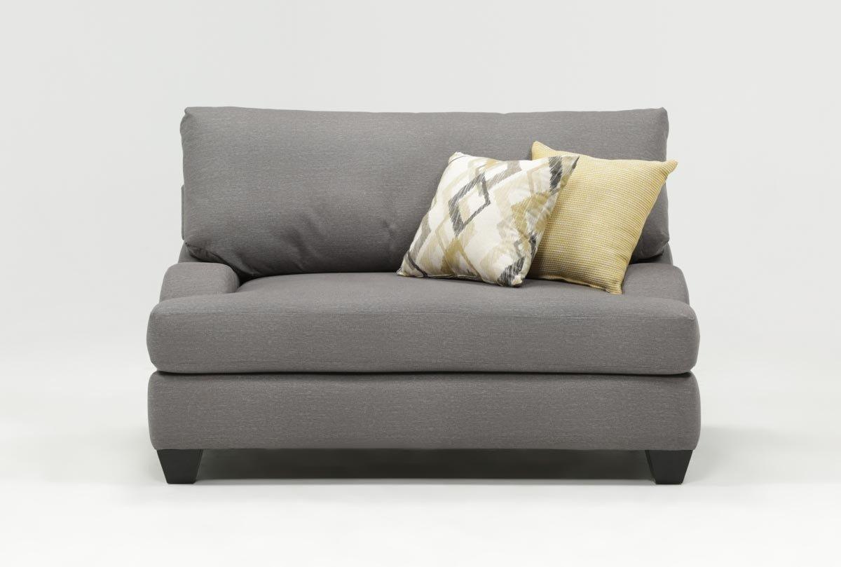 Sierra Foam Oversized Chair | Living Spaces In Sierra Foam Ii Oversized Sofa Chairs (View 3 of 25)