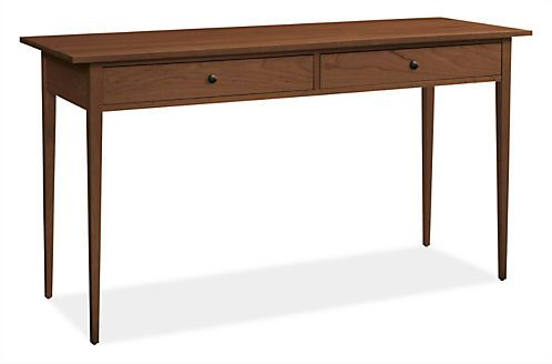 Simple Elegance, Console Tables And Consoles With Regard To Favorite Parsons Walnut Top & Dark Steel Base 48X16 Console Tables (Image 22 of 25)