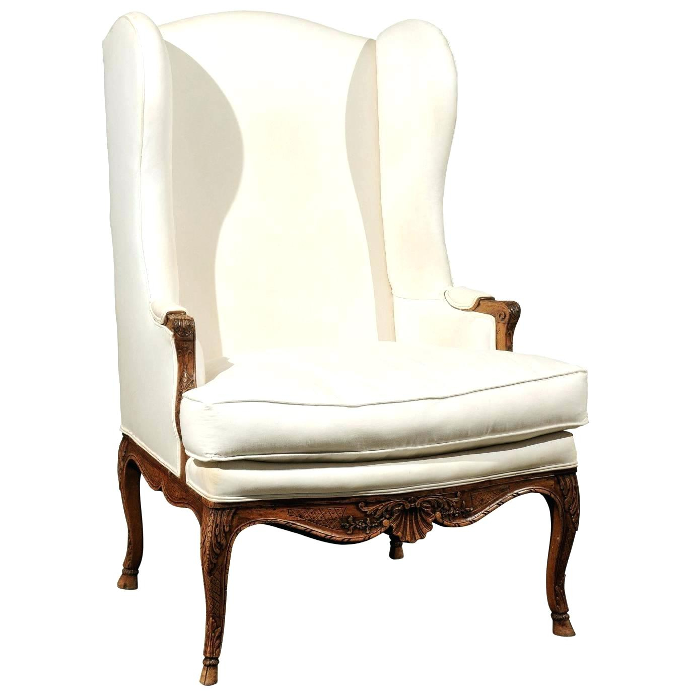 Skirted Wingback Chair Bailey Flare Arm Wing Skirted Swivel Glider Within Bailey Linen Flare Arm Wing Skirted Swivel Gliders (Image 24 of 25)
