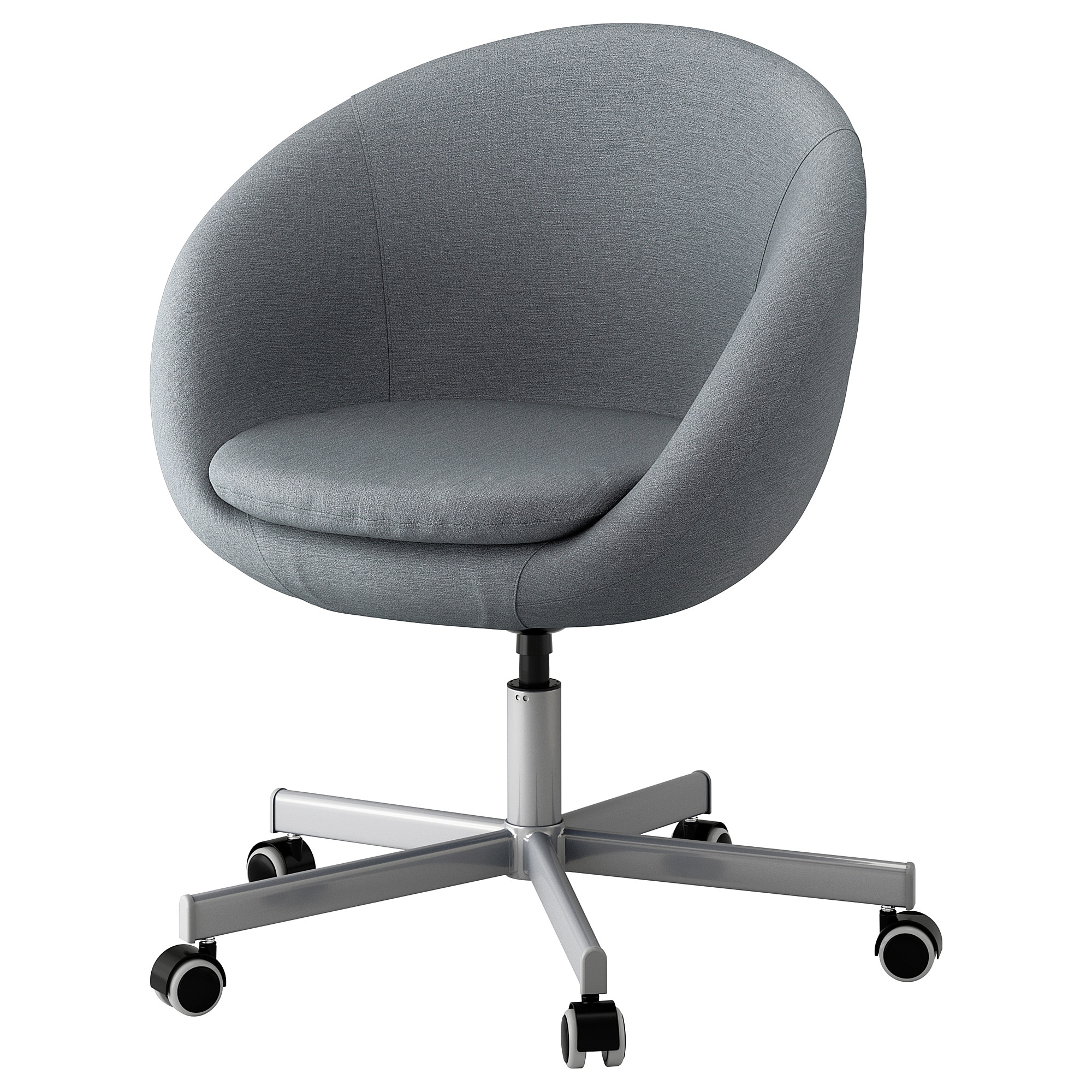Skruvsta Swivel Chair Flackarp Medium Grey – Ikea With Regard To Grey Swivel Chairs (View 8 of 25)