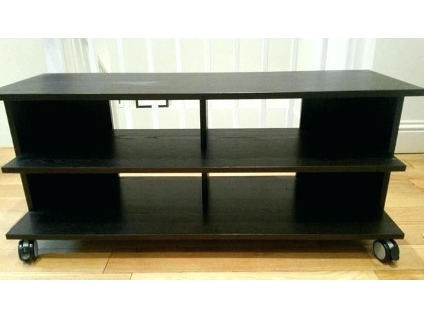 Small Black Tv Stand – Newvocationrewards.club Intended For Most Current Small Tv Stands On Wheels (Photo 5 of 25)