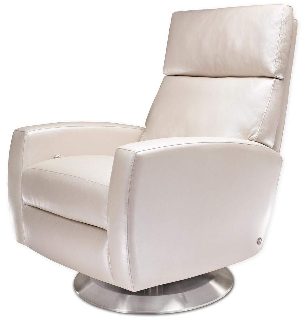 Snow White American Leather Ella Recliner From Treeforms (Image 24 of 25)