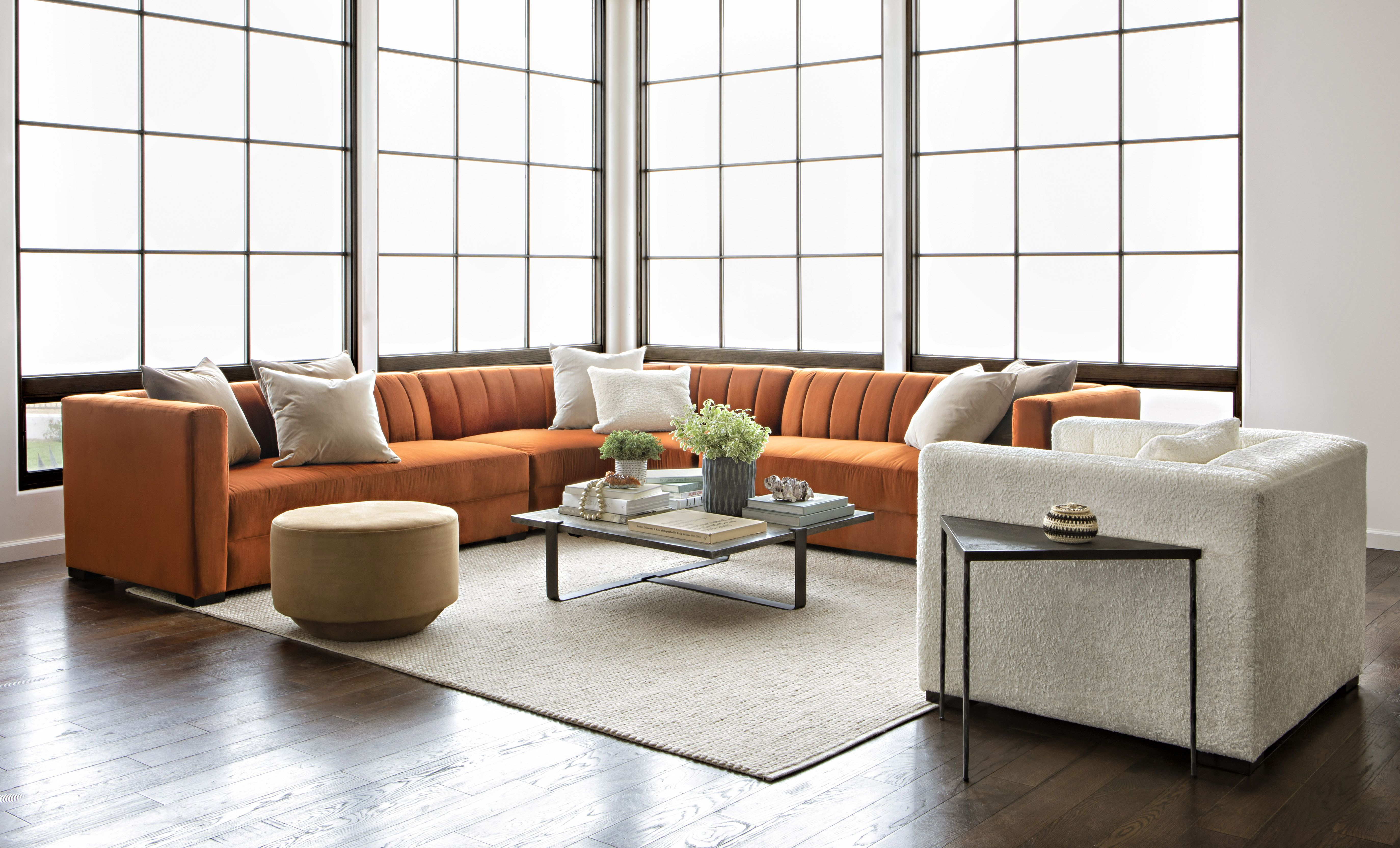 Soane 3 Piece Sectionalnate Berkus And Jeremiah Brent | Nate + With Regard To Matteo Arm Sofa Chairs By Nate Berkus And Jeremiah Brent (View 14 of 25)