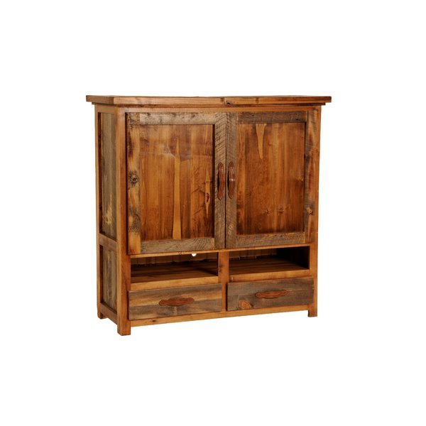 Solid Oak Tv Armoire (Photo 4 of 25)