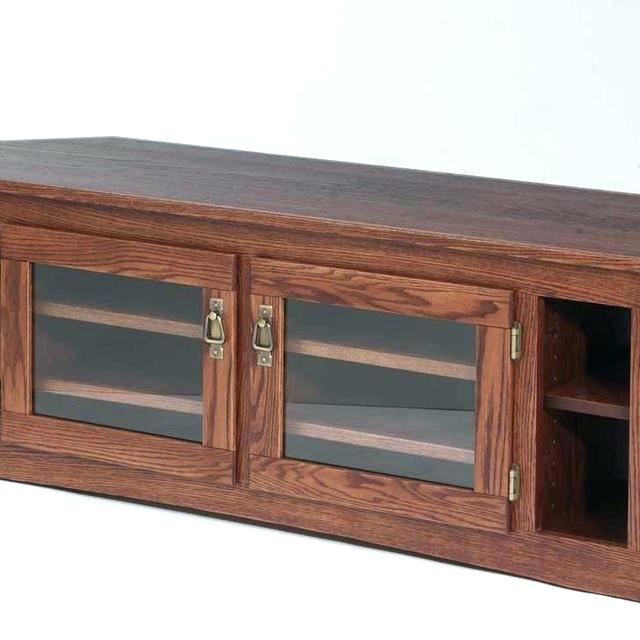 Solid Wood Tv Stands For Flat Screens Solid Oak Stands Custom Solid Inside Most Popular Oak Furniture Tv Stands (View 20 of 25)