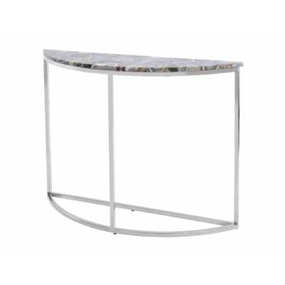 Steel Console Tables, Tables, Living – Page 1 Pertaining To Most Recently Released Mix Agate Metal Frame Console Tables (View 14 of 25)