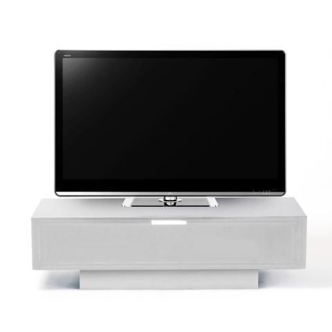 Stil Stand 4001 White High Gloss 1 Drawer Tv Unit – Next Day With Popular Stil Tv Stands (Image 17 of 25)