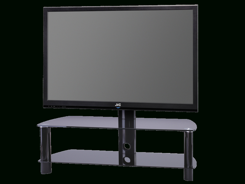 "Stil Stand Swivel Glass Cantilever Tv Stand Up To 50"" Stuk2055Bb Intended For Preferred Stil Tv Stands (Image 20 of 25)"