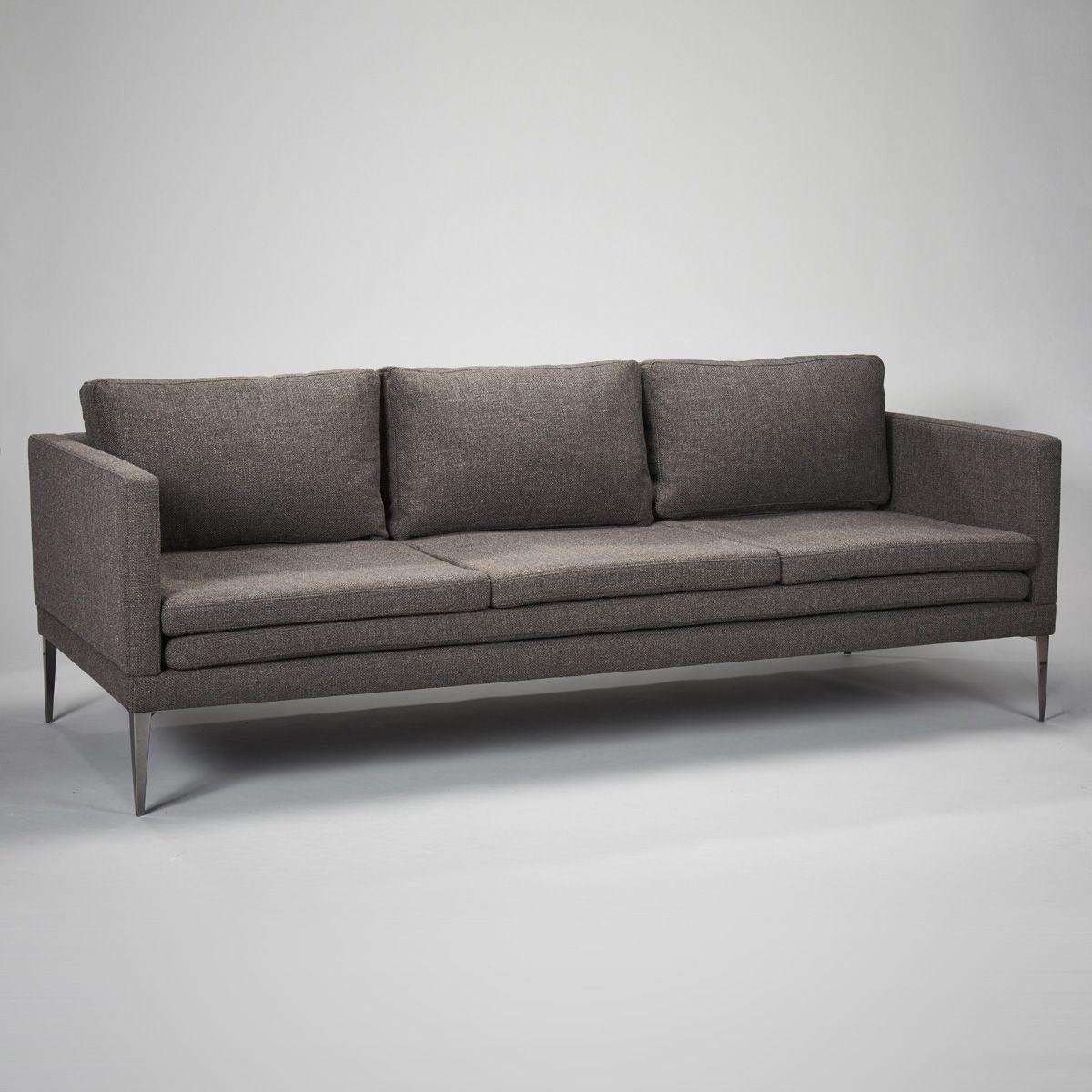 Stock Hoxton Sofa In Bermuda Dark Grey | Robert.langford (View 16 of 25)