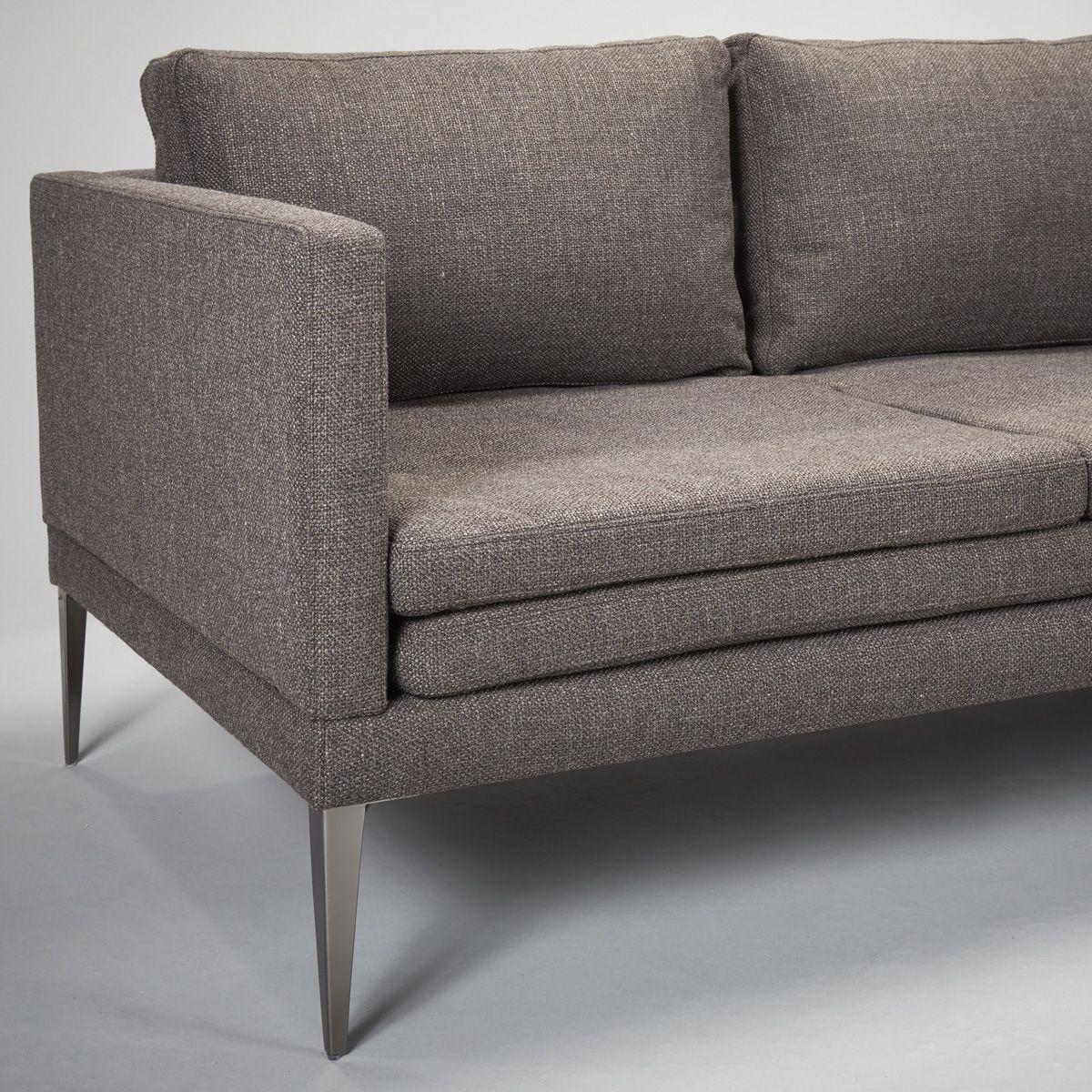 Stock Hoxton Sofa In Bermuda Dark Grey | Robert.langford (View 22 of 25)