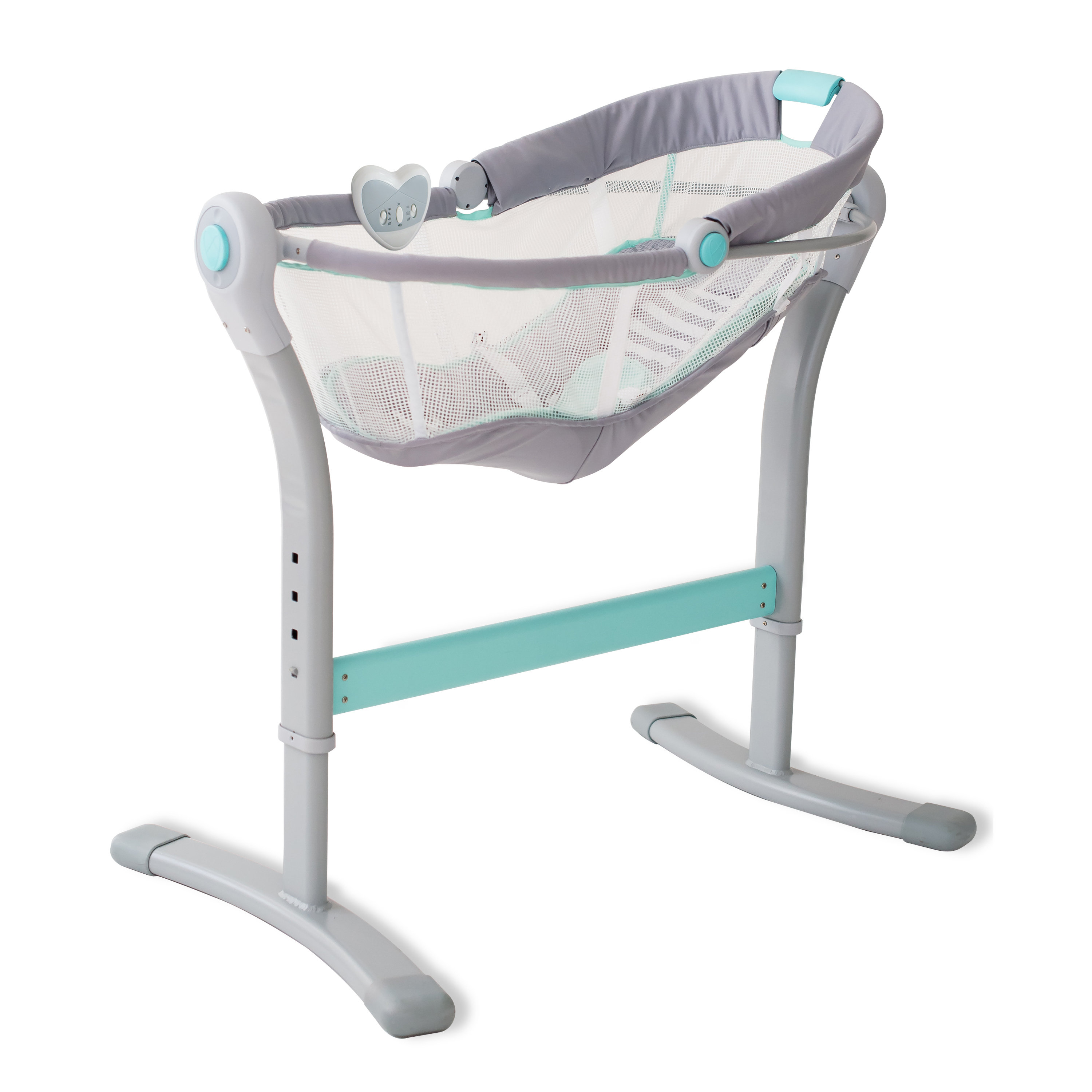 Summer Infant Swaddleme®Your Bed Sleeper & Reviews | Wayfair Regarding Bailey Mist Track Arm Skirted Swivel Gliders (View 24 of 25)