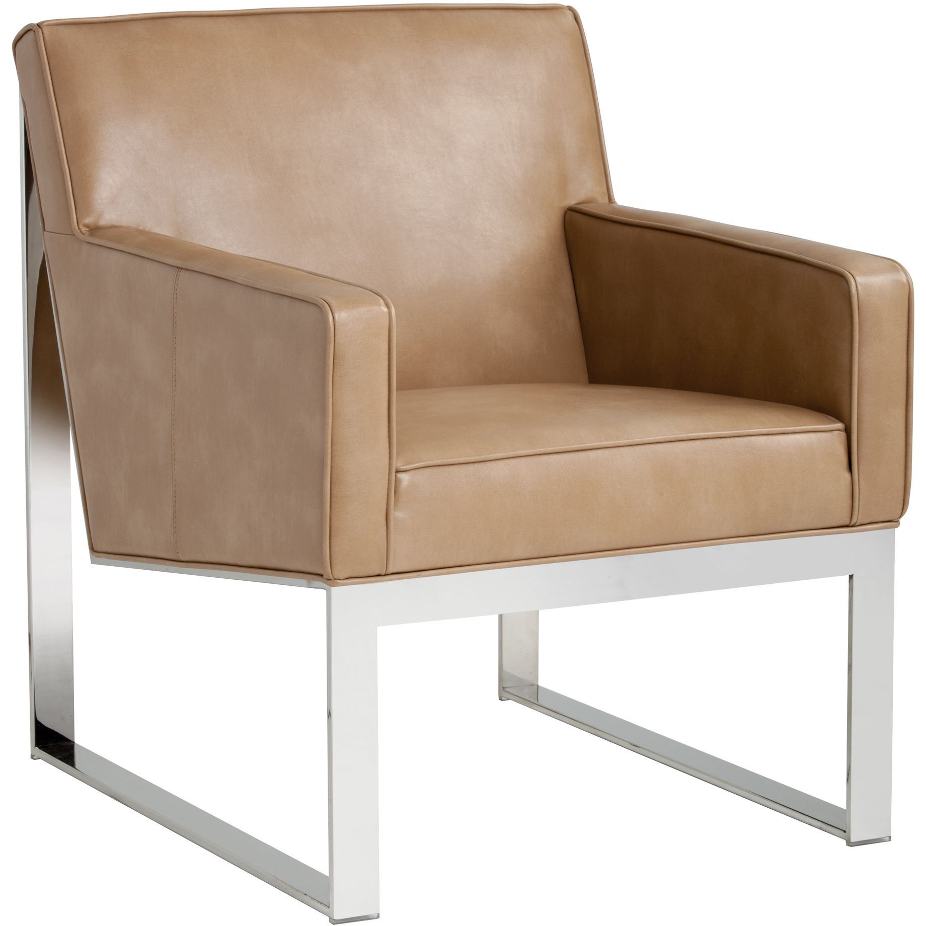 Sunpan 'club' Sheldon Leather Armchair | Products | Pinterest Inside Sheldon Oversized Sofa Chairs (View 9 of 25)