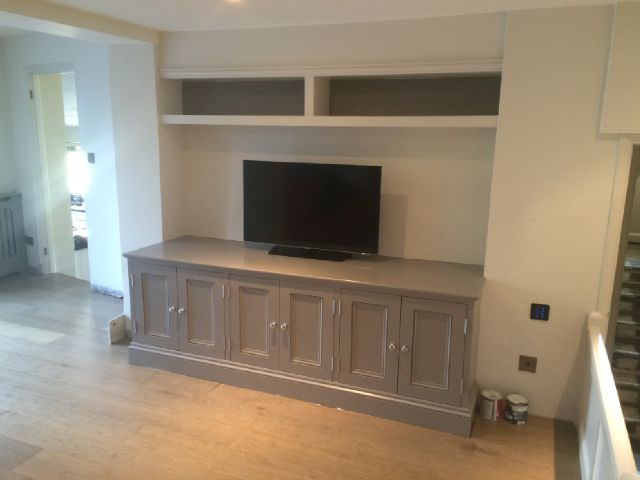 Surrey Joinery Specialists – Joinery And For Newest Bespoke Tv Cabinet (Image 21 of 25)