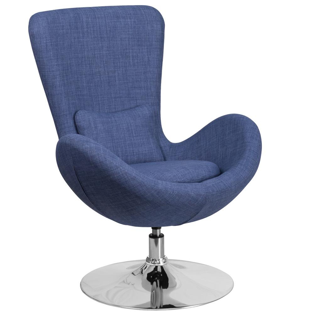 Swivel – Accent Chairs – Chairs – The Home Depot In Katrina Blue Swivel Glider Chairs (Image 24 of 25)