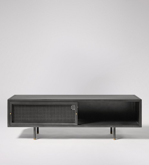 Swoon Editions Regarding Preferred Gunmetal Media Console Tables (View 10 of 25)