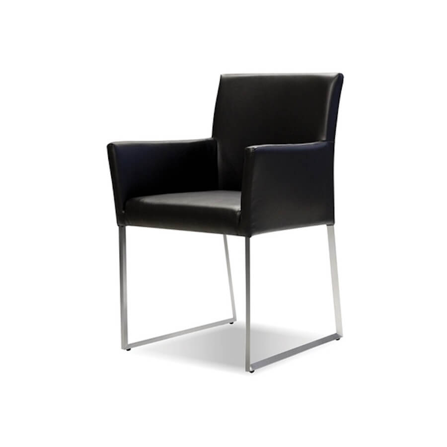 Tate Dining Armchair | Industrial Revolution Modern Furniture Store For Tate Arm Sofa Chairs (Image 20 of 25)