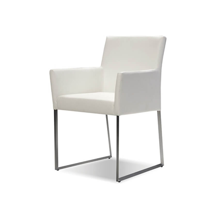Tate Dining Armchair | Industrial Revolution Modern Furniture Store With Regard To Tate Arm Sofa Chairs (Image 21 of 25)