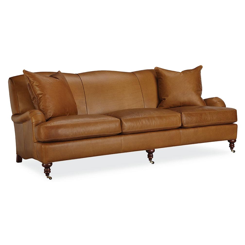 Tate Leather Sofa – Luxe Home Company Regarding Tate Arm Sofa Chairs (Image 22 of 25)