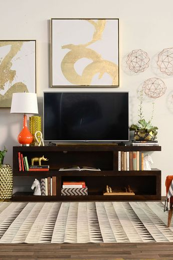 """The """"a Bomb"""" Is A Mid Century Modern Console  Designed For For Favorite Walton 74 Inch Open Tv Stands (Image 18 of 25)"""