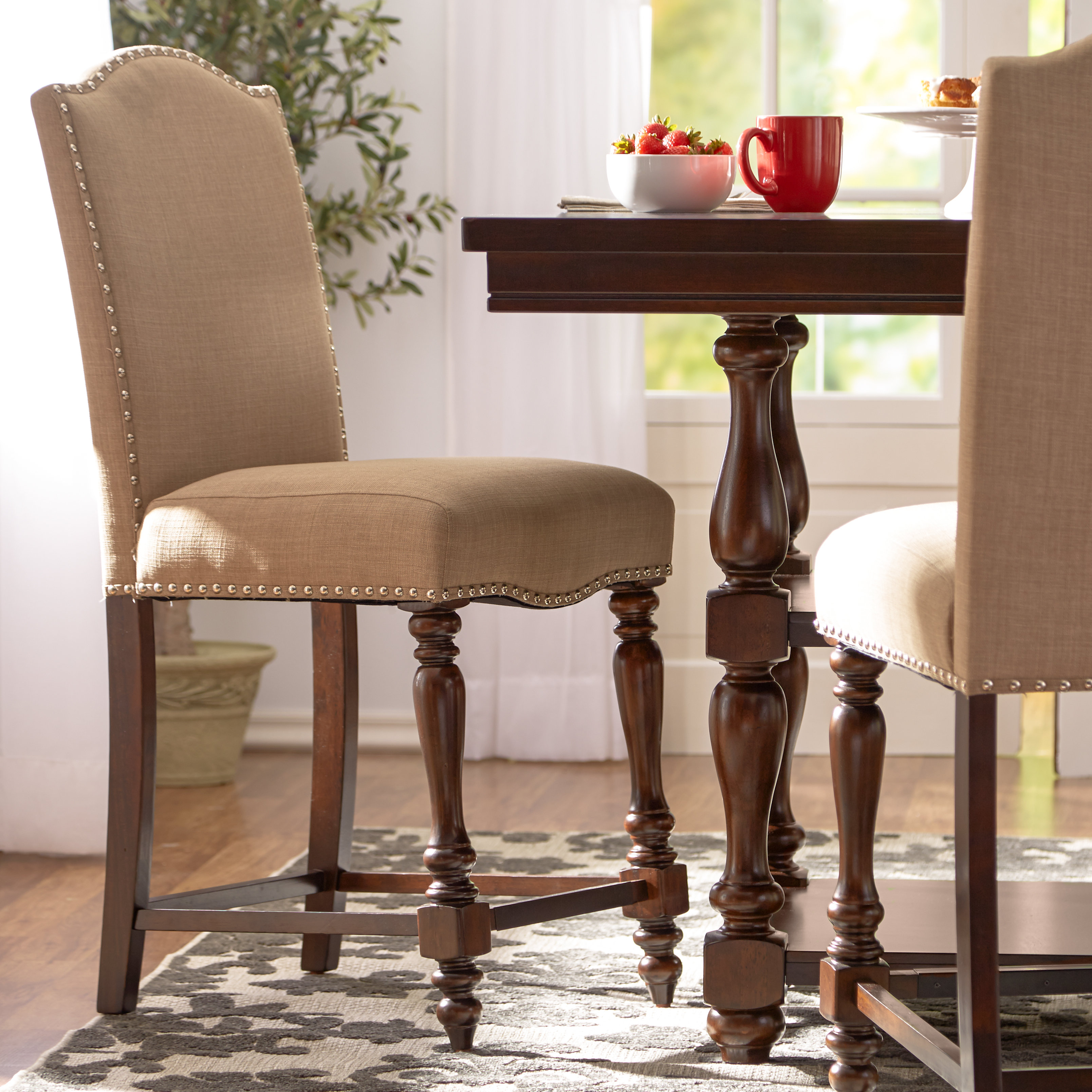"Three Posts Lanesboro 26"" Bar Stool & Reviews 