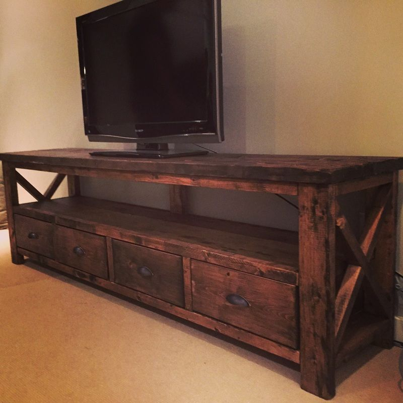 Timber & Co Creates Handmade, Rustic Decor And Custom Furniture Inside Newest Bale Rustic Grey 82 Inch Tv Stands (Image 19 of 25)
