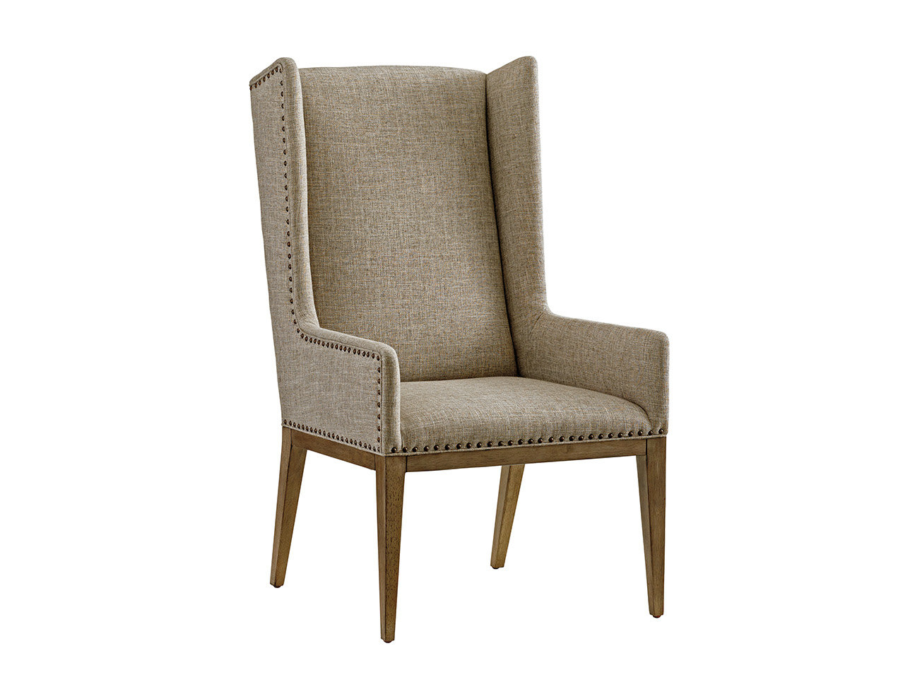 Tommy Bahama Home Cypress Point Wingback Chair | Wayfair Intended For Circuit Swivel Accent Chairs (View 21 of 25)