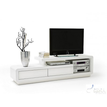 Tony – High Gloss Tv Unit – Tv Stands (382) – Sena Home Furniture Regarding Famous High Gloss Tv Cabinets (View 4 of 25)