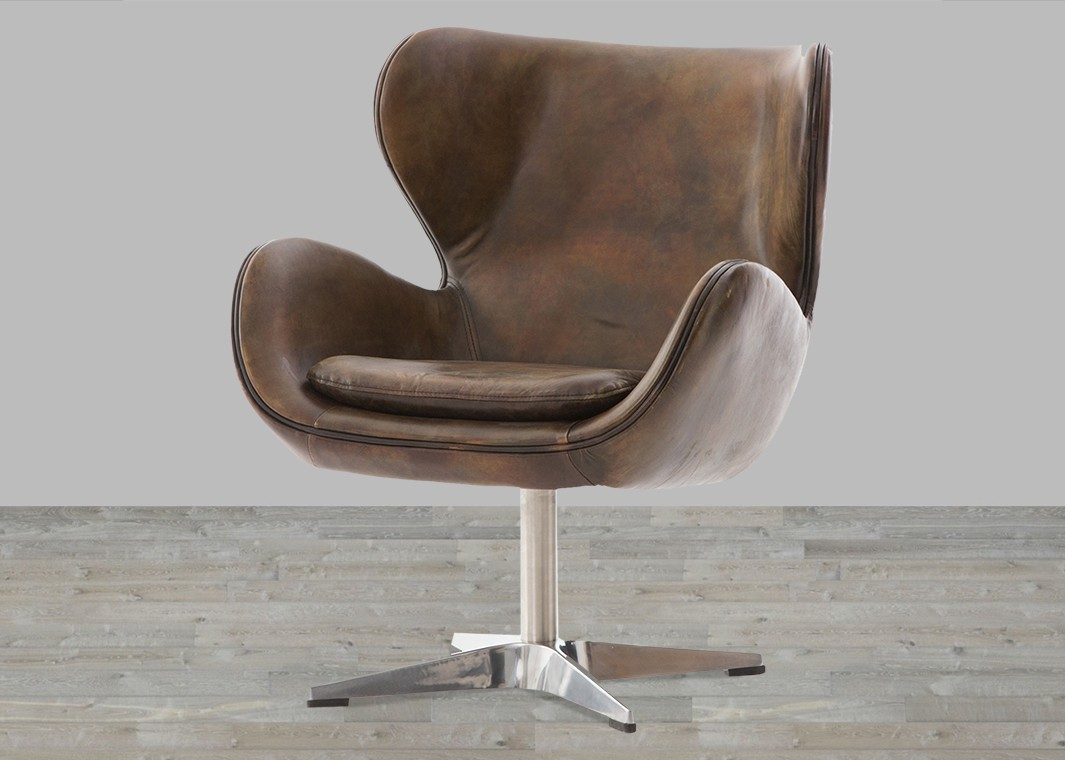 Top Leather Chairs, Leather Chairs Living Room – Silver Coast Company Inside Swivel Tobacco Leather Chairs (View 8 of 25)