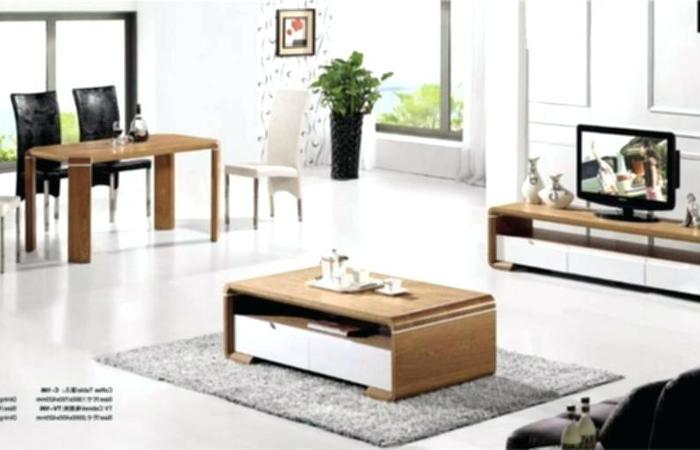 Trendy Coffee Tables And Tv Stands Matching Regarding Most Splendid Tv Stand With Matching Tables Dark Wood Coffee Table (Image 18 of 25)