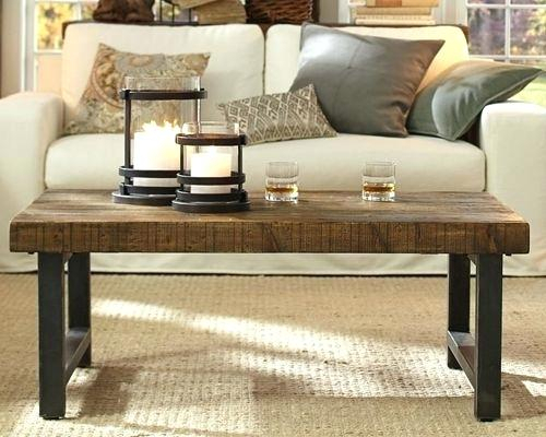 Trendy Era Limestone Console Tables In Table: Pottery Barn Connor Coffee Table (Image 23 of 25)