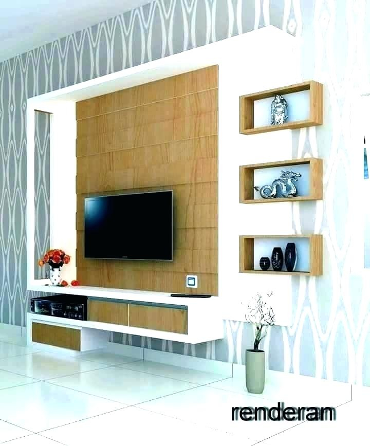 Trendy Modern Design Tv Cabinets With T V Shelves Design – Tv Shelf Wall Ascend Wall Mounted Stand Tv (View 23 of 25)