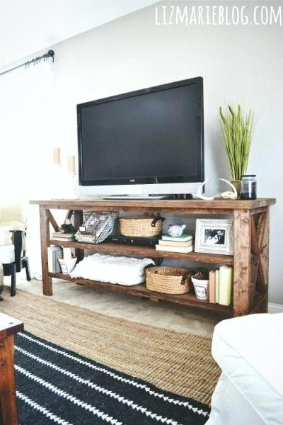 Trendy Rustic Furniture Tv Stands With Regard To Rustic Furniture Tv Stand Wood Console Could Be Used For A Buffet (Image 20 of 25)