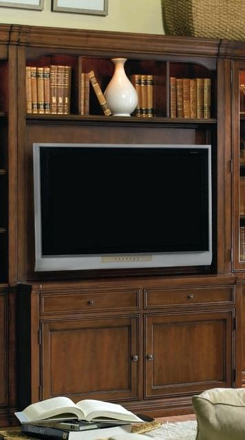 Trendy Sinclair Grey 54 Inch Tv Stands with Cherry Creek Stand Hutch Hooker Furniture Home Gallery Stores 54 Tv