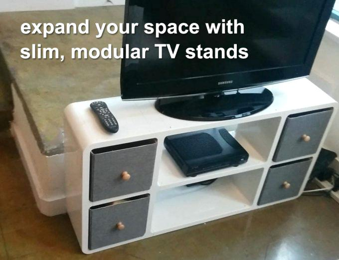 Trendy Slim Tv Stands For Thin Tv Stand Cheap Wonderful Tall Stands For Flat Screens With (Image 21 of 25)
