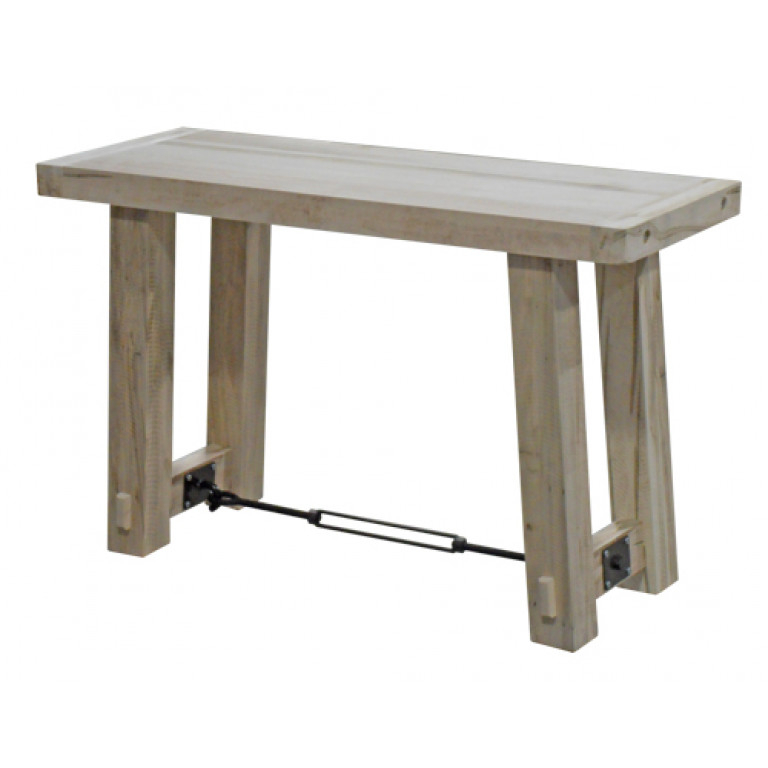 Trendy Yukon Grey Console Tables Within Yukon Turnbuckle Sofa Table (View 5 of 25)