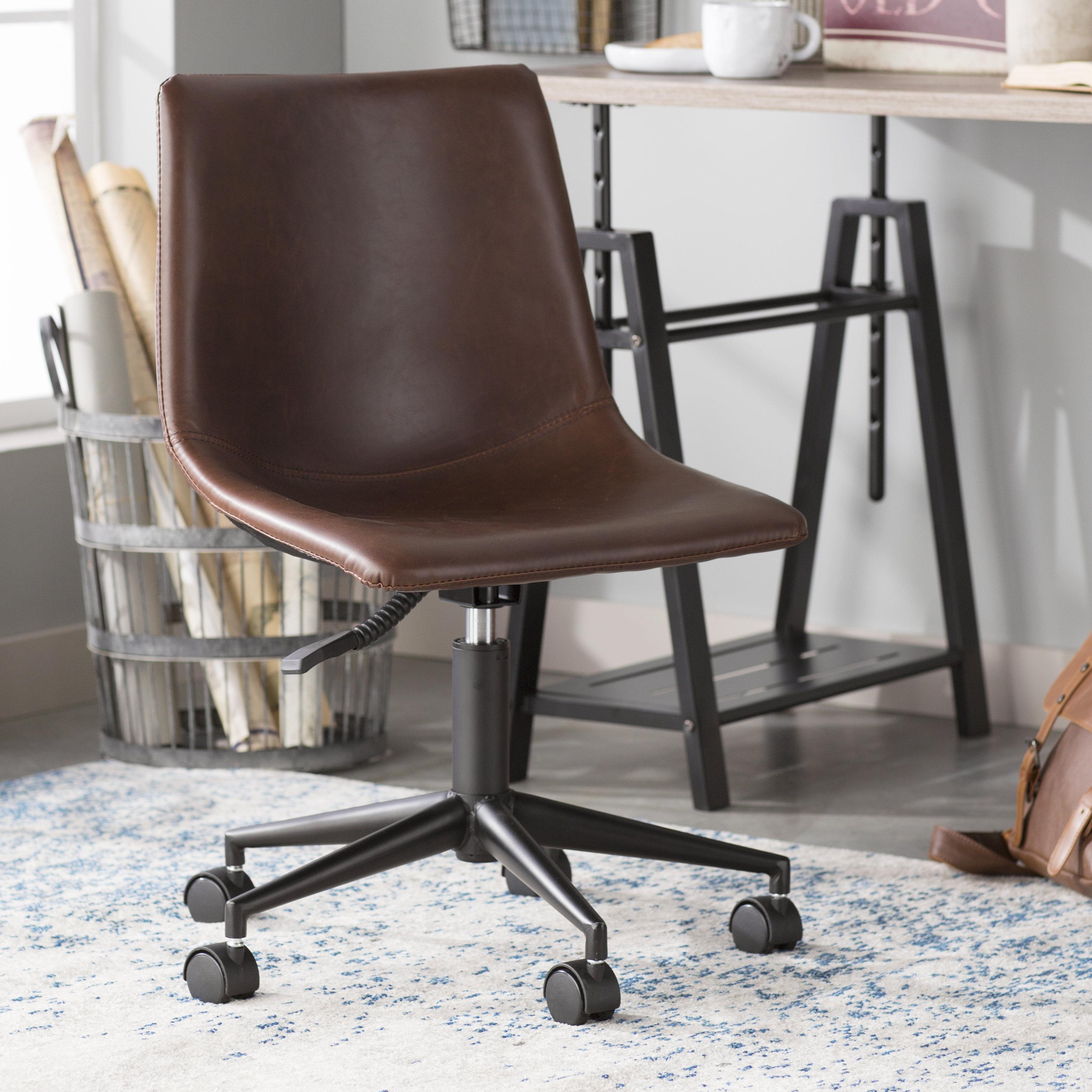 Trent Austin Design Patterson Smart Desk Chair & Reviews | Wayfair Inside Patterson Ii Arm Sofa Chairs (Image 21 of 25)