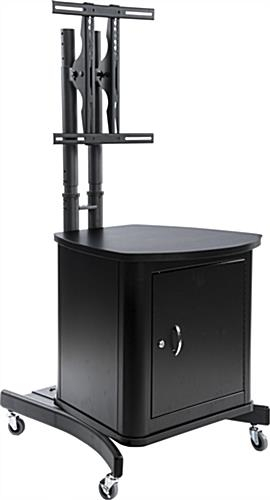 Tv Stand With Locking Cabinet (Image 19 of 25)