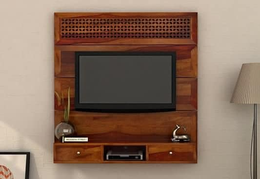 Tv Unit : Buy Wooden Tv Units & Stands (View 13 of 25)