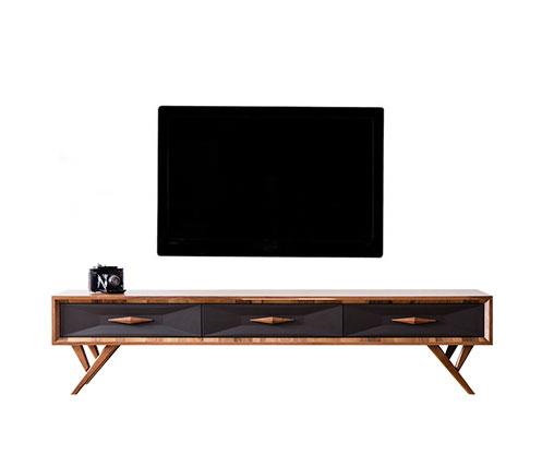 Tv Ünitesi Modelleri Ve Televizyon Sehpası Fiyatları – Vivense Mobilya In Fashionable Ducar 74 Inch Tv Stands (View 14 of 25)