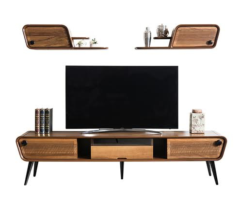 Tv Ünitesi Modelleri Ve Televizyon Sehpası Fiyatları – Vivense Mobilya Throughout Latest Ducar 74 Inch Tv Stands (View 10 of 25)