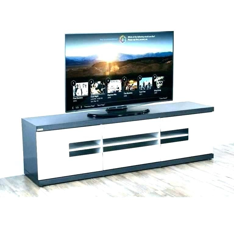 Ultra Slim Tv Stands Home Entertainment Center Stand Shelves Wood Intended For Fashionable Slim Tv Stands (Photo 24 of 25)