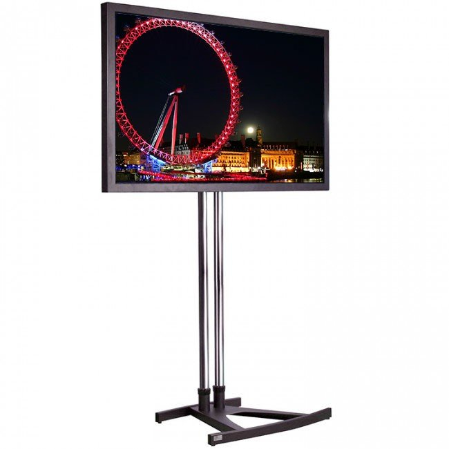 Unicol Vs1000 Trade / Exhibition Tv Stand For Screens Up To 55 Inch with regard to Widely used Oxford 60 Inch Tv Stands