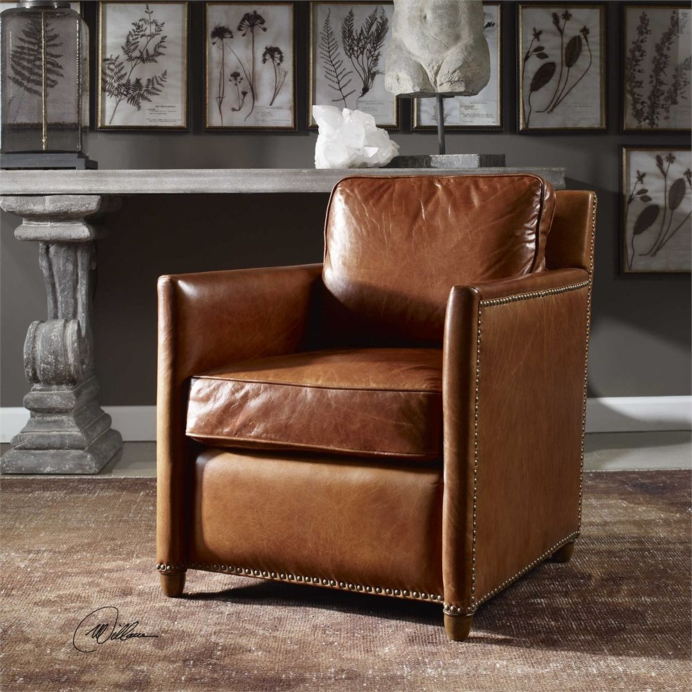 Uttermost – Roosevelt, Club Chair $$808 Wholesale Through Jody With Alder Grande Ii Swivel Chairs (View 21 of 25)