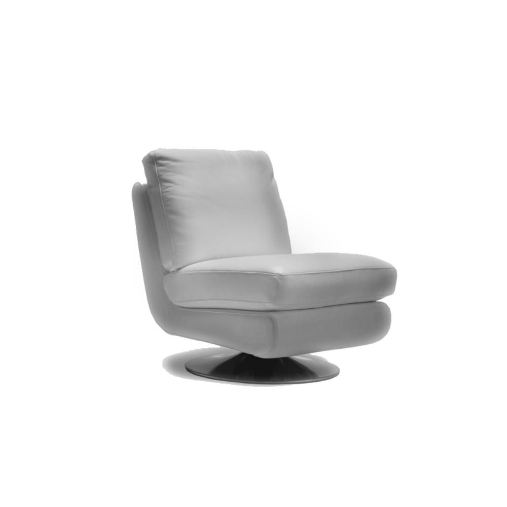 Vancouver Modern Furniture – Gina Leather Swivel Chair Grey – Moe's Within Gina Grey Leather Sofa Chairs (Image 25 of 25)