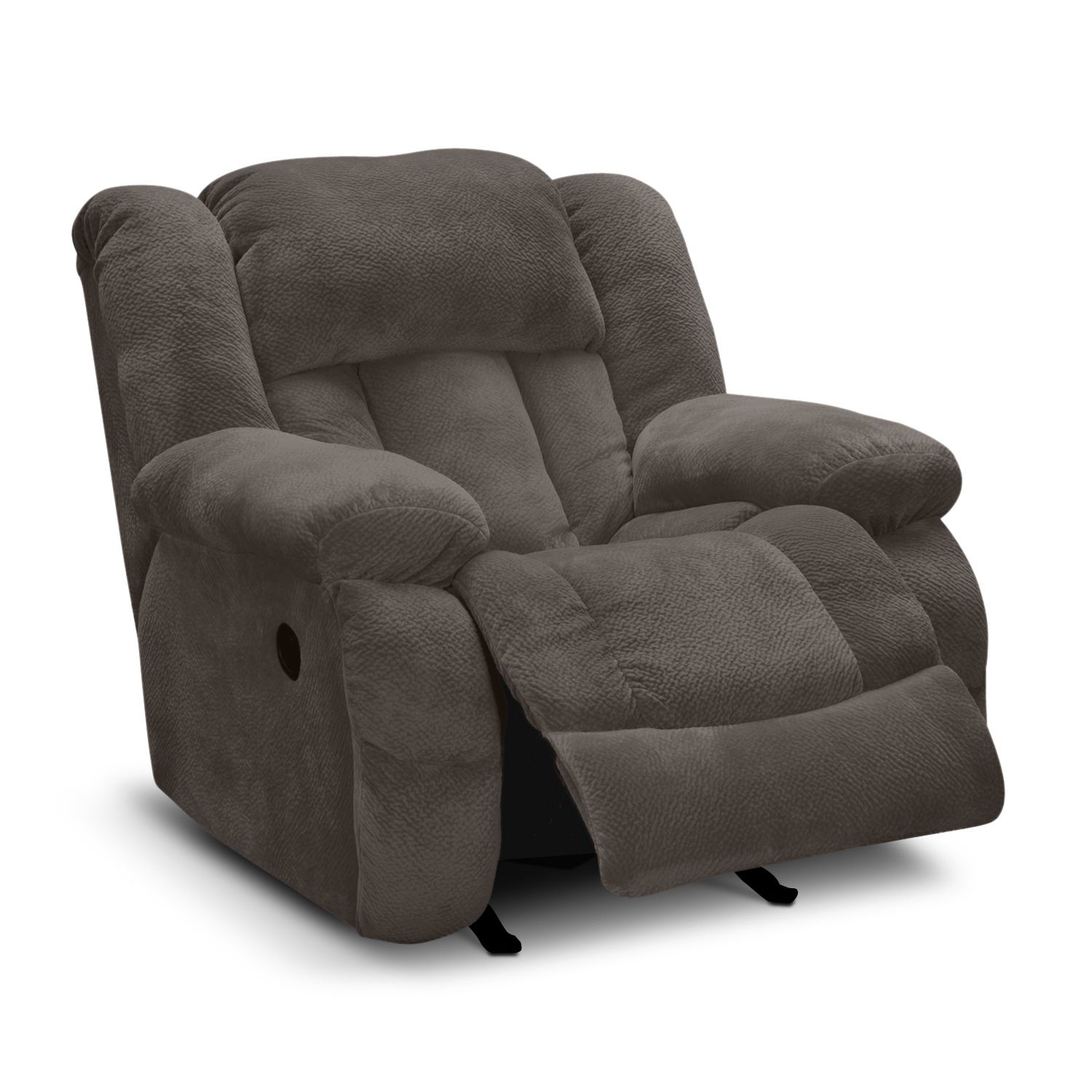 Vcfcontest Park City Glider Recliner | Value City Furniture Inside Katrina Beige Swivel Glider Chairs (Photo 15 of 25)