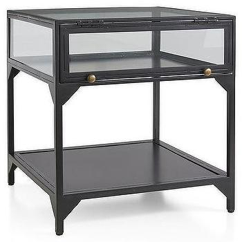 Ventana Black Console with Popular Ventana Display Console Tables
