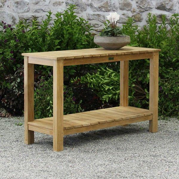 Ventana Console Table – Teak Outdoor Furniture (Image 18 of 25)